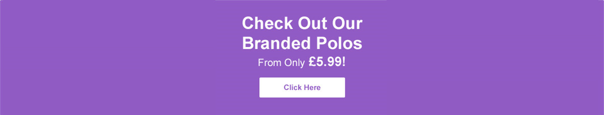 Check Out Our Branded Polos