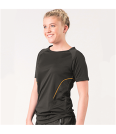 BLUEMAX APTUS FEMALE SHORT SLEEVE TRAINING TOP