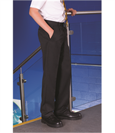 BLUEMAX FULHAM JUNIOR FLAT FRONT TROUSER