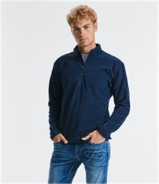 Russell Zip Neck Micro Fleece