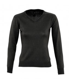 SOL'S Ladies Galaxy Cotton Acrylic V Neck Sweater