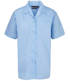 BLUEMAX TWIN PACK REVERE SHORT SLEEVE BLOUSE