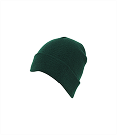 AA Knitted Cap With Turn Up