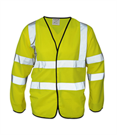 AA High Visibility L/S Coatlet