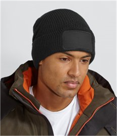 "Beechfield Thinsulateâ""¢ Patch Beanie"