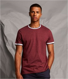 Front Row Contrast Tipped T-Shirt