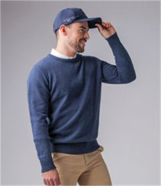 Glenmuir Crew Neck Lambswool Sweater