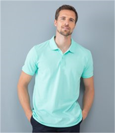 Henbury Modern Fit Cotton Pique Polo Shirt