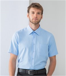 Henbury Short Sleeve Anti-bac Wicking Shirt