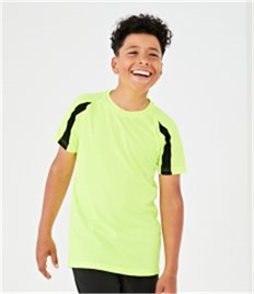 AWDis Kids Cool Contrast Wicking T-Shirt