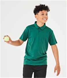 AWDis Kids Cool Wicking Polo Shirt