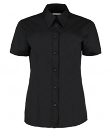 Kustom Kit Ladies Short Sleeve Workforce Shirt