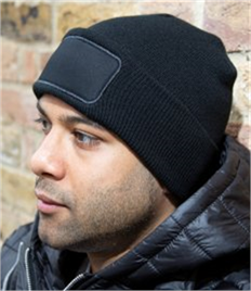 Result Core Double Knit Printers Beanie