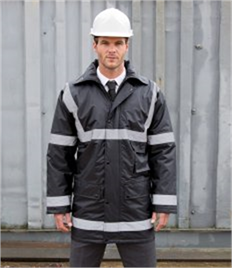 Result Work-Guard Reflective Management Coat