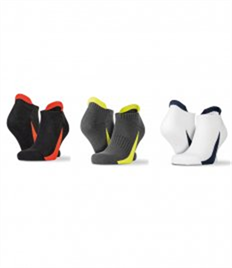 Spiro 3 Pack Sports Sneaker Socks