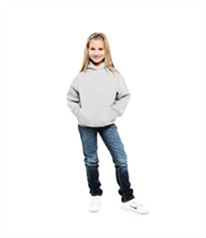 Uneek Childrens Hooded Sweatshirt