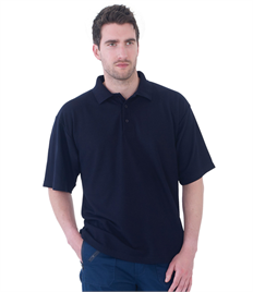 Ultimate Clothing 50/50 Piqué Polo