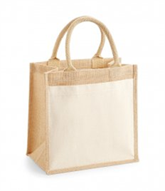 Westford Mill Pocket Jute Midi Tote