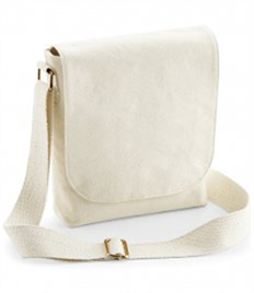 Westford Mill Fairtrade Canvas Mini Messenger