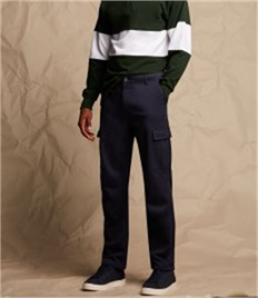Front Row Stretch Cargo Trousers