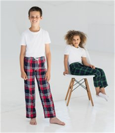 SF Minni Kids Tartan Lounge Pants