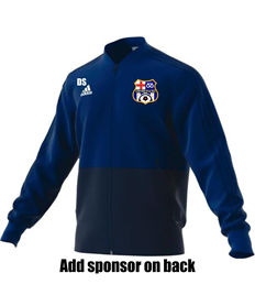 Presentation Jacket with initials AND sponsor (Adult)