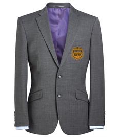 EMB - Men's 30/30 Light Grey Blazer (Gold Badge)