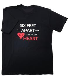 Men's '6ft Apart' T-Shirt - Printed