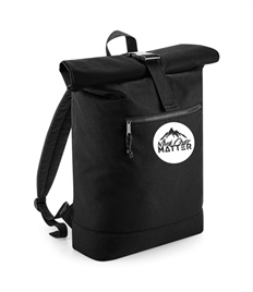 MOM Recycled Rolled-Top Backpack