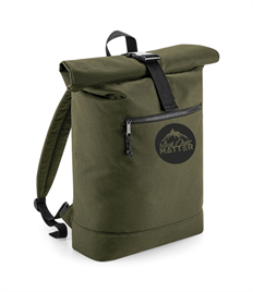 Mind Over Matter Recycled Rolled-Top Backpack