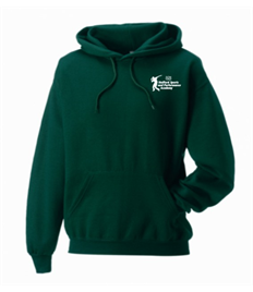 BOTTLE GREEN Adults Stafford Sports and Performance Academy Hoody