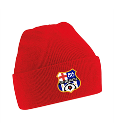 Beanie Hats with club badge (Red or Blue)