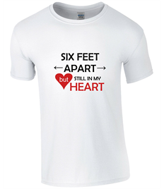 Women's '6ft Apart' T-Shirt - Printed
