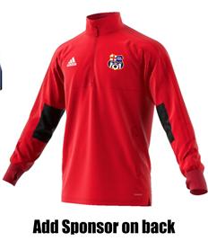 Training Jacket - Badge, Initials, and sponsor (Adult/Large Child)