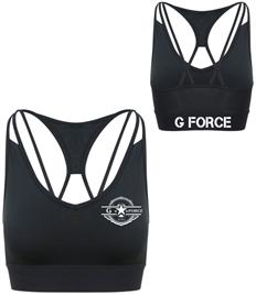 PR - G Force Member Cross Back Crop Top