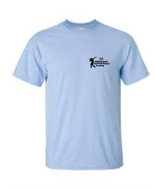 Adults Pale Blue T shirt