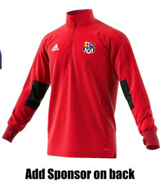 Training Jacket - Badge, Initials, and sponsor (Child)