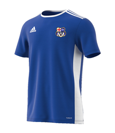 Training jersey with badge and number on back (Child)
