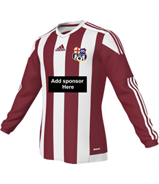 Matchday Shirt with badge, number AND sponsor logo - (Adult / Large Child))