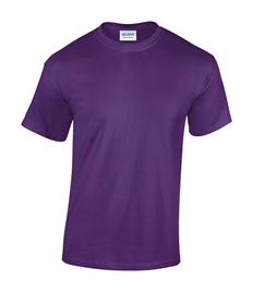 Stafford Walking Netball - Plain Purple Cotton T-Shirt