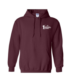BURGUNDY Childrens Stafford Sports and Performance Academy Hoody