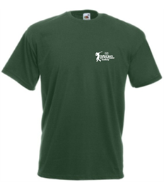 Adults BOTTLE GREEN T SHIRT