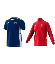 Training Jacket and Shirt - Badge, Initials and shirt number (Adult)