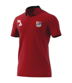 Team polo shirt (Adult / Large Child) with badge and initials