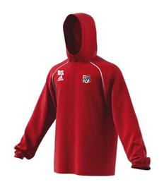 Team Rain Jacket with badge, initials (Adult / Large Child)