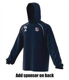 Team Rain Jacket with badge, initials and sponsor (Adult / Large Child)