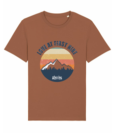 MOM Love at First Hike T-Shirt - Front Print