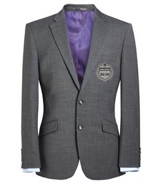 EMB - Men's 30/30 Light Grey Blazer (Silver Badge)