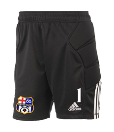 Goalkeeper Matchday shorts - with Club badge and number (Adult)