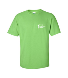 Adults LIME GREEN T SHIRT